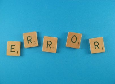 Types Of Computer Errors