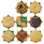 types of girl scout cookies
