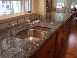 types of granite countertops types of