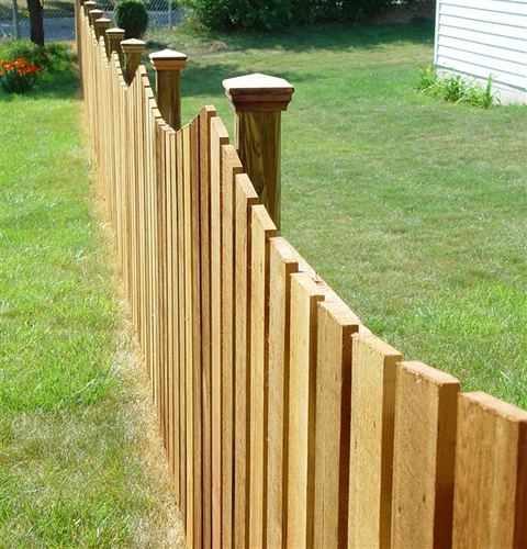 Types of fences types of for Types of fences