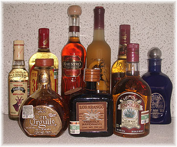 Types Of Tequila