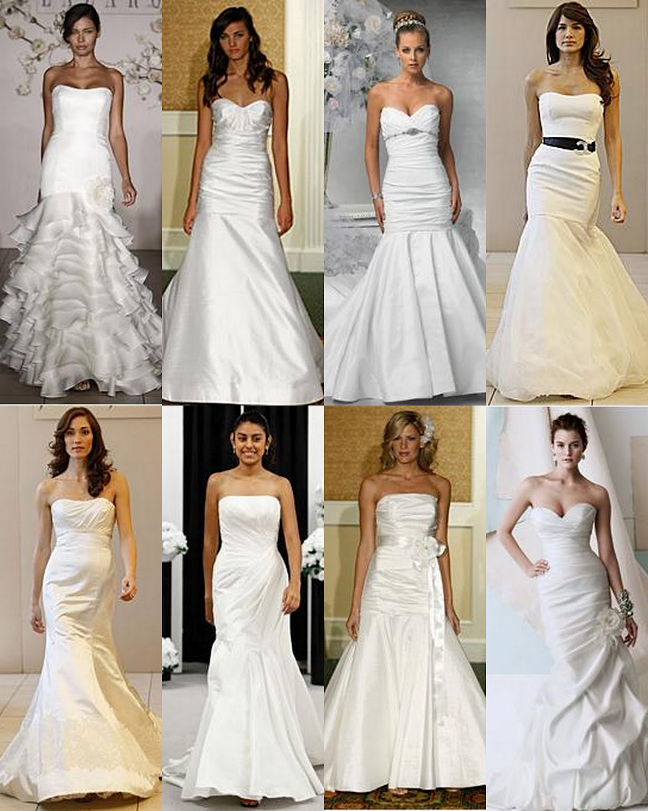 types of wedding dresses types of