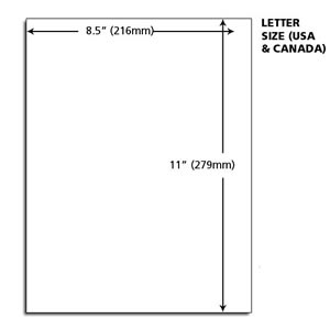 Types Of Paper Size